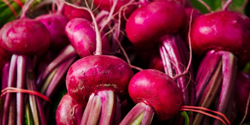 Red Beets root crop vegetable