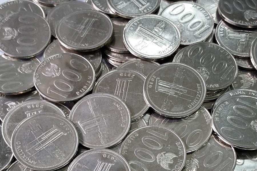 Bahan pembuatan uang logam rupiah Indonesia  Uang Indonesia