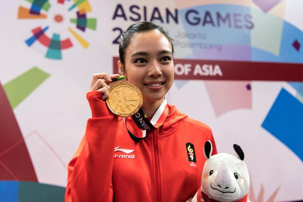 atlet peraih medali emas