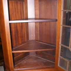 Mahogany Side Tables Living Room Mantel Decorating Ideas Pair Of Biggs Furniture Solid Inlaid Tall Corner ...