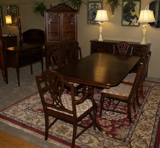 Antique dining room furniture  Mahogany Dining Room Furniture