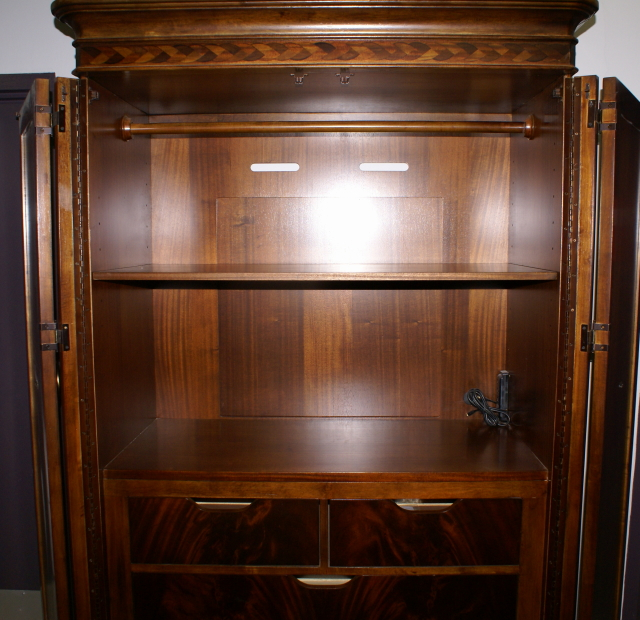 American Drew wardrobe  entertainment center