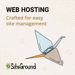 Siteground Webhosting Advertisement