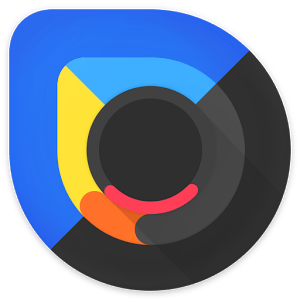 Blackdrop Icon Pack V2.1 APK Paid