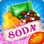 Candy Crush Soda Saga v1.126.1 + (100 plus moves/Unlock all levels & More) download free