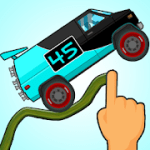 Road Draw: Climb Your Own Hills v1.8.4 + (Infinite Coins/Fuel) download free
