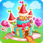 Candy Farm: Magic cake town & cookie dragon story v1.27 + (Unlimited Gems/Coins) download free