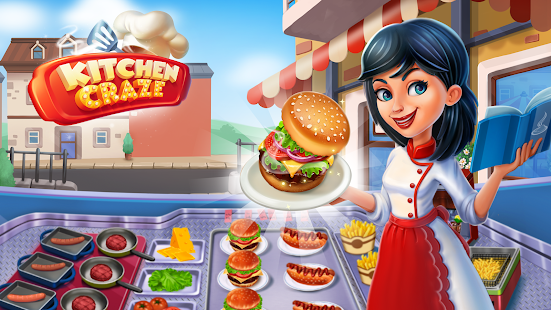 Kitchen Craze Master Chef Cooking Game V1.7.5 + (High Coin Reward Per Level) Download Free