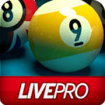 Pool Live Pro 8-Ball 9-Ball v 2.6.5 APK + Hack MOD (Long Line / Extra Power / Extra Spin)