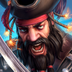 Pirate Tales: Battle for Treasure v 1.51 Hack MOD APK (God mode / dmg / def up to 10x / always win)