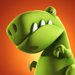 Crazy Dino Park v 1.67 Hack MOD APK (diamonds)