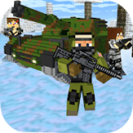 Cube Wars Battle Survival v 1.49 Hack mod apk (Enemies do not move)