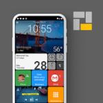 Square Home  Launcher  Windows style 2.1.7 Premium APK