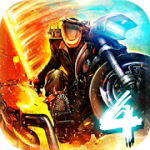 Death Moto 4 v 1.1.20 Hack mod apk (Unlimited Money)