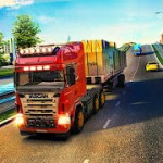 Euro Truck Driving Simulator Transport Truck Games v 1.30 Hack mod apk (Free Shopping)
