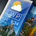 Weather Live Wallpaper. Current forecast on screen 1.5.5 Pro APK Modded