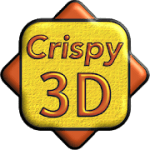 Crispy 3D  Icon Pack 2.1.0 APK Patched