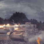 Panzer War v 2020.10.18.1  Hack mod apk (Free Shopping)