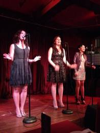 Whitney Tenney, Jeni Incontro, Donna Noelle Ibale (Festivus 2013)