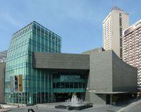 Ayala Museum/ Makati Ave cor Dela Rosa/ Locsin