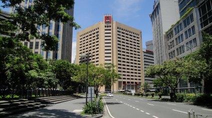 BPI Head Office/ Ayala Ave cor Paseo de Roxas/ E. L. Mariano