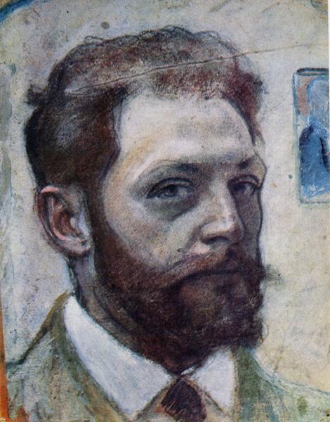 Вадим Меллер - Автопортрет, 1914