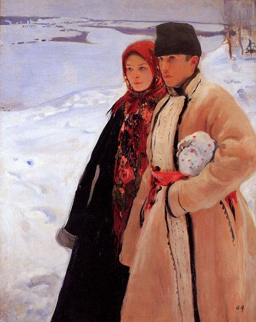 Олександр Мурашко - Зима, 1905
