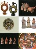 Народна кераміка Гаврила та Явдохи Пошивайлів. Набір листівок