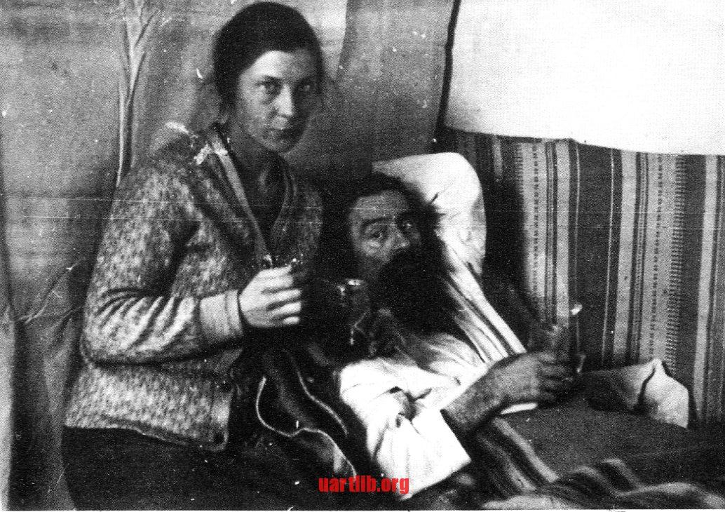 Одне з останніх фото Малевича за життя – з третьою джружиною Наталією Манченко. 1935, Ленінград