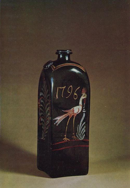 Штоф. 1796 рік. Висота 28,5 сантиметрів.