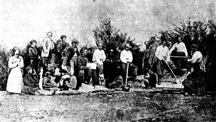 Спогади бабусі Насті Щепанської про похорон Тараса Григоровича Шевченка 1861 року