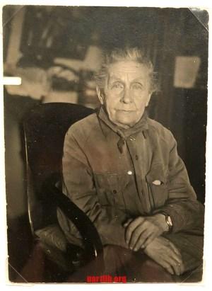 Матір Казимира Малевича. 1932 рік.