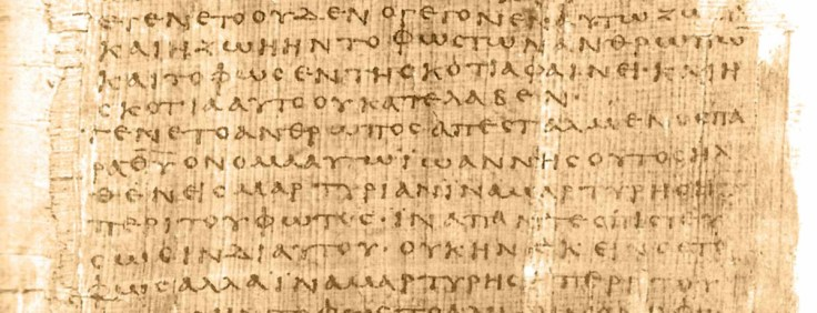 Earliest New Testament Manuscripts P66 Papyrus
