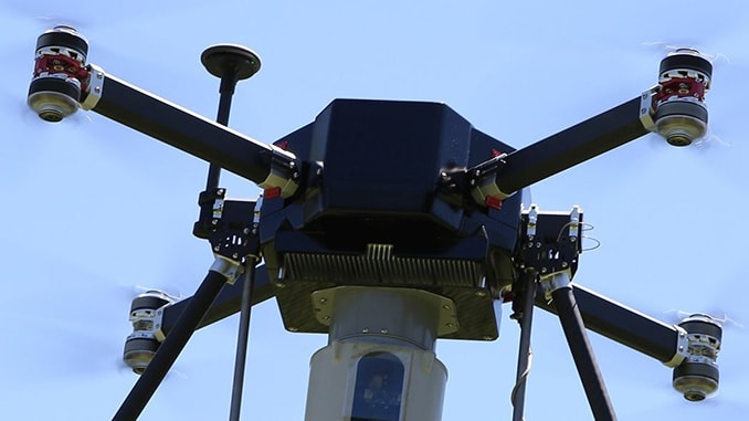 New Patent Covering Core WATT and Bolt Tethered Drone Technology