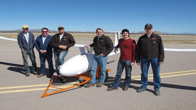 diesel-powered UAV