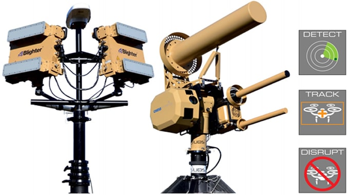 "Liteye's counter-UAS system (""AUDS"") has been deployed with U.S. Forces to protect critical assets and personnel; Tribalco provides infield installation and training support."