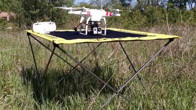 Drone Operator Ocelleye Introduces UAV Landing Zone