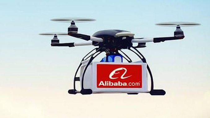 Alibaba's Drones Deliver Packages Over Water For The First Time