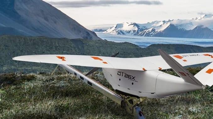 Delair DT26X LiDAR drone