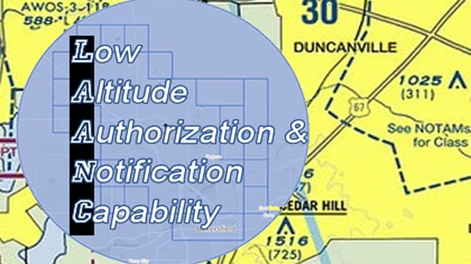 Low Altitude Authorization and Notification Capability