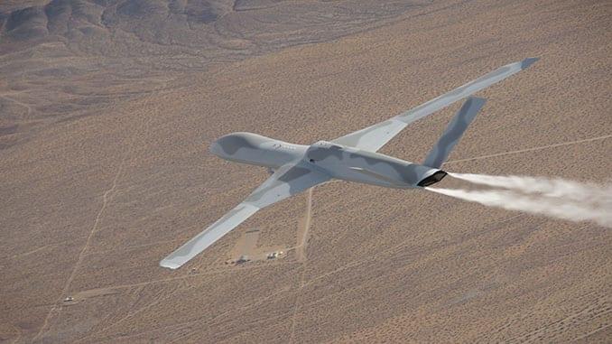 GA-ASI Avenger ER Sets New Endurance Record Flying 23.4 Consecutive Hours