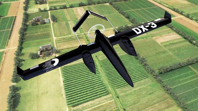 The Sky Guys Granted SFOC For Flight Testing Of New DX-3 Vanguard