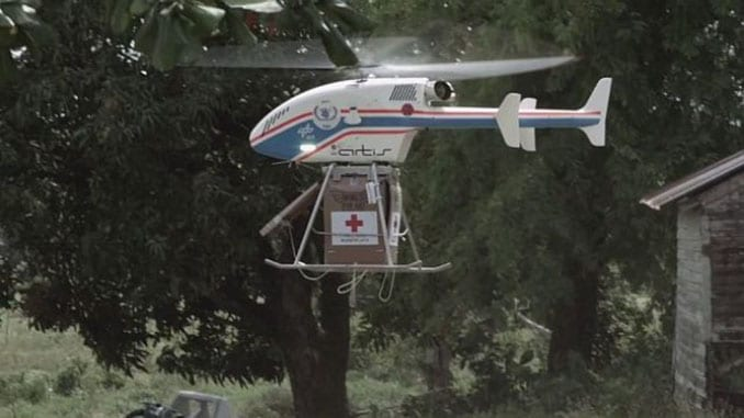 The Next Generation Of Safe And Inexpensive Humanitarian Airdrops