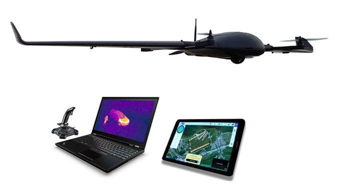 Vertical Technologies launches the DeltaQuad Pro #VIEW VTOL surveillance UAV