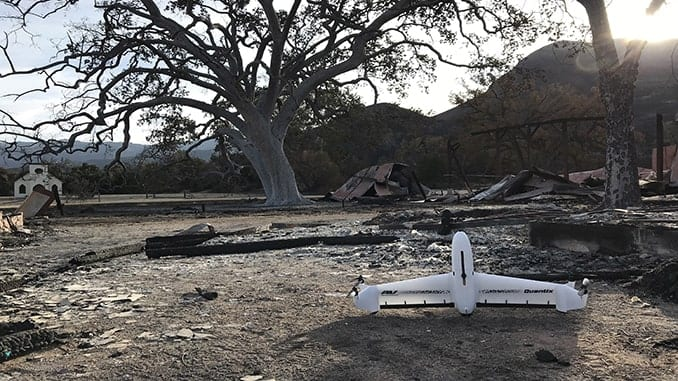 AeroVironment Quantix Drone and Decision Support System To Aid National Park Service Recovery Efforts From Woolsey Fire
