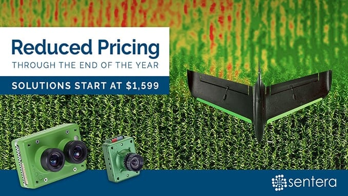 Sentera Announces Price Promotion On Precision AG Solutions