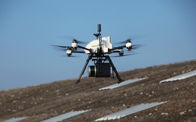 UAV LiDAR Scanning - LiDAR OnyxScan