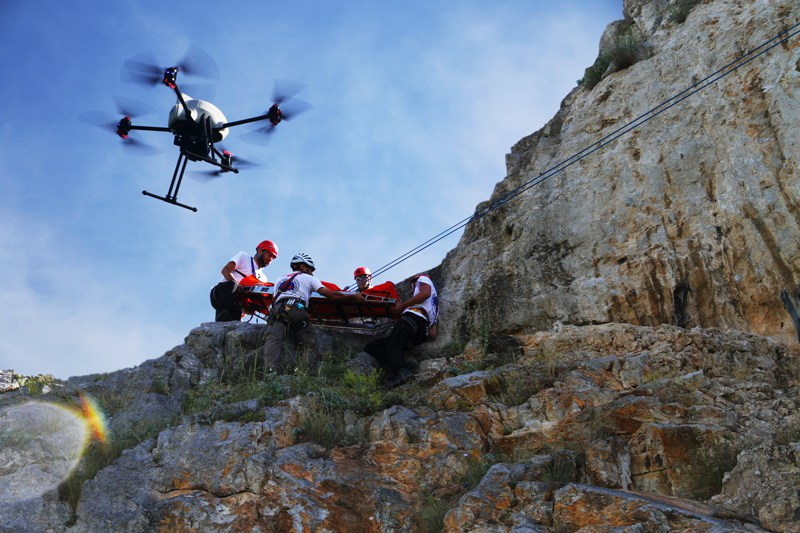 Drones for Search and Rescue missions - SAR drones