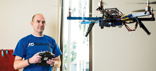 chris anderson commercial drone industry