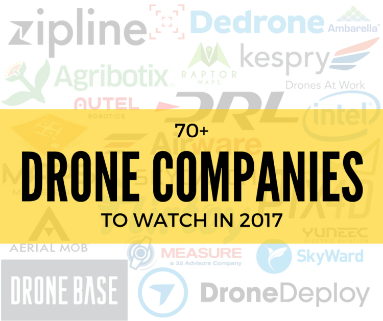 drone companies to watch